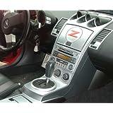 Nissan 350Z 350 Z 350-Z Z33 2006 2007 2008 INTERIOR SILVER ALUMINUM DASH TRIM