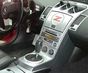 Nissan 350z 350 Z 350 Z Z33 2006 2007 2008 Interior Silver Aluminum Dash Trim Kit