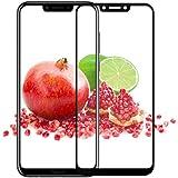 Newlike Huawei Honor Play Tempered 5D [Pack 0F 1], Full Tempered Glass for Huawei Honor Play - Black