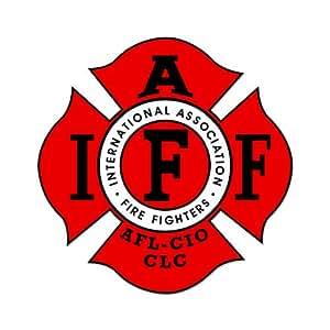 Amazon Com Firefighter Iaff Fire Fighters Car Sticker