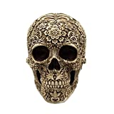 Lifesize Resin Carving Human Skull Medical Model Party Decor Ornament