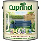 Cuprinol 2.5 Litre Garden Shades Standard Colours Forget-Me-Not by Cuprinol