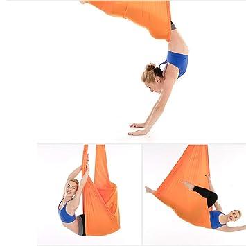 ZMYLOVE Hamaca Aérea del Yoga, Tela De Seda Aérea Superior ...