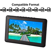 """Acogedor Portable Small TV 9"""" ATSC Digital Television,1080P HD Video Player for Home Car Outdoor"""