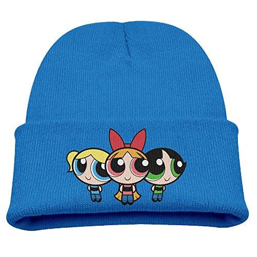 Beanie Hat Cap Powerpuff Girls Fashion (Powerpuff Girl Costume For Guys)