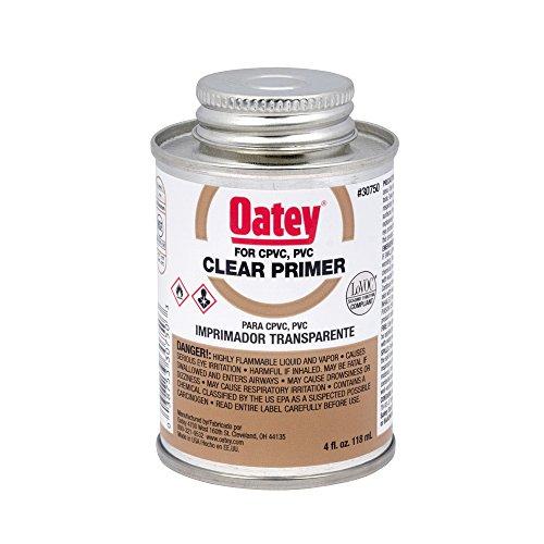 UPC 038753307503, Oatey 30750 NSF Listed Primer, Clear, 4-Ounce