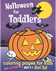 Halloween For Toddlers (Coloring And Learning Books): Coloring Pages For Kids Ages 2-4
