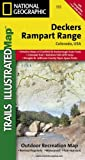 Deckers, Rampart Range (National Geographic Trails Illustrated Map)