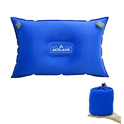 Acelane Almohada Autoinflable Comprimible Hinchar Esterilla ...