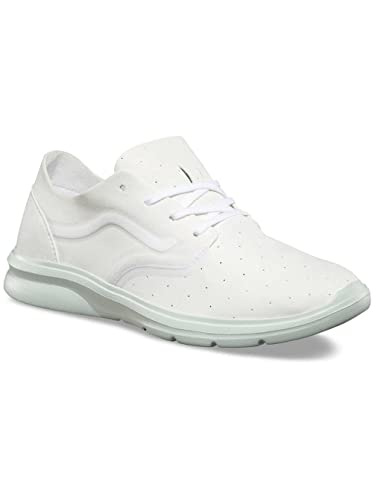 a314a29851f5 Image Unavailable. Image not available for. Color  Vans Iso 2 Rapidweld Mens  Size 7.5 Perf True White Zephyr Grey Running Shoes