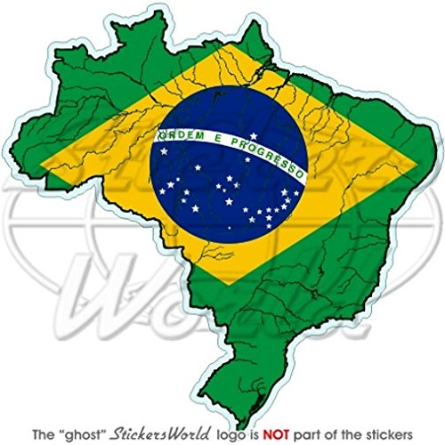 BRAZIL Brazilian Map-Flag Brasil 4