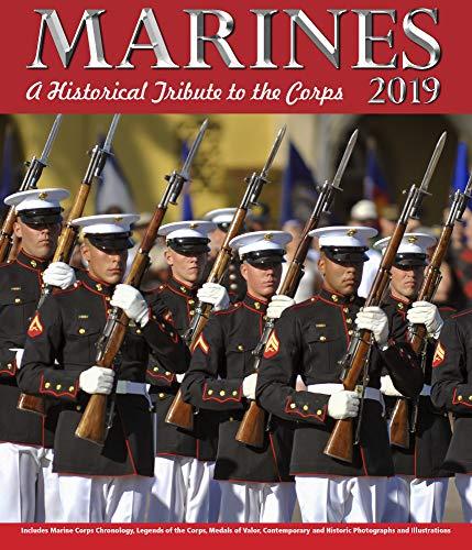 Marines Chronology Wall Calendar 2019 by Ziga Media