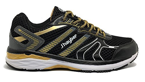 Jhayber Deportivo Hombre Running Negro-Gold