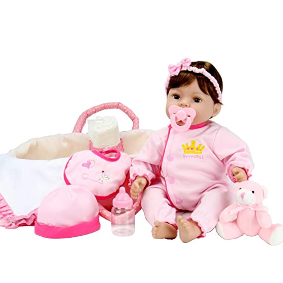 Amazon.com: Aori - Muñeca de bebé renacido de 18 pulgadas ...
