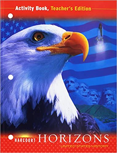Amazon harcourt horizons united states history activity harcourt horizons united states history activity book teachers edition 1st edition fandeluxe Images