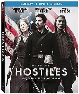 Cover Image for 'Hostiles [Blu-ray + DVD + Digital]'