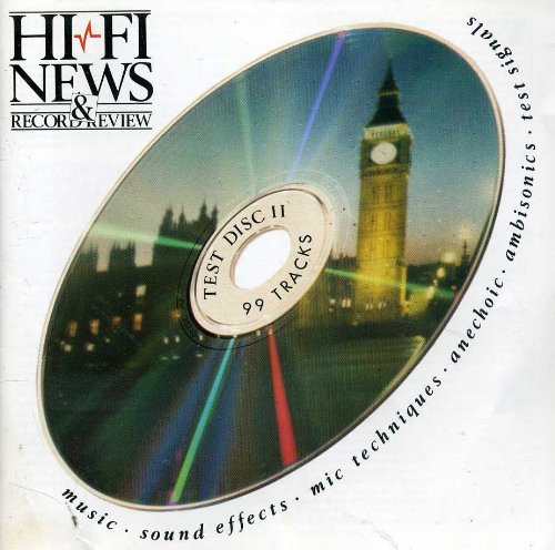 HFN / RR Test Disc II - Music, Sound Effects, Mic Techniques, Anechoic, Ambisonics & Test Signals