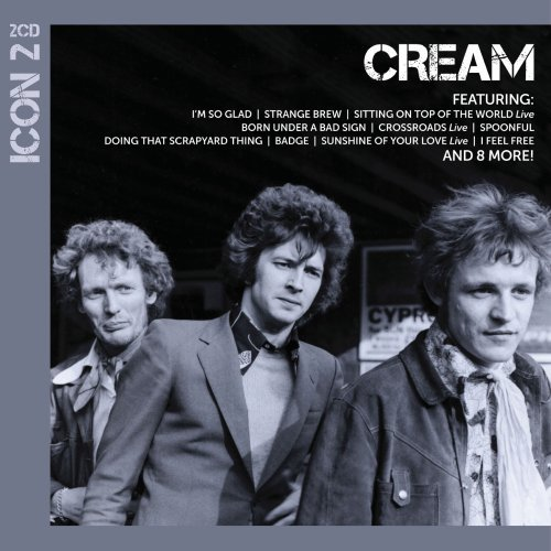 cream icon 2 cd amazon com music