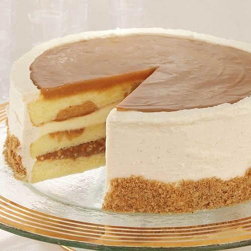 Sweet Street Salted Caramel Vanilla Crunch Cake, 4.87 Pound -- 2 per case. by Sweet Street