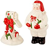 Lenox Countdown to Christmas Salt and Pepper Shaker Set, Ivory