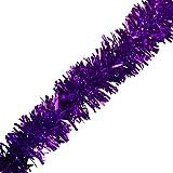 Purple Metallic Twist Garland - 4' x 25' roll