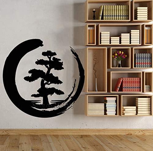 Meditación Estilo Zen Diseño Árbol Grande Vinilo Tatuajes de Pared ...