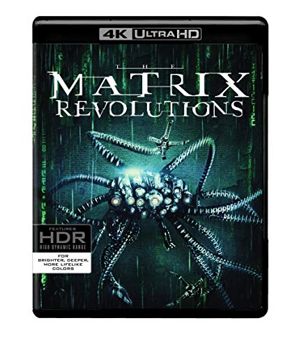 Matrix Revolutions,The (4K Ultra HD) [Blu-ray]