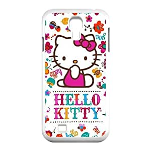 Samsung Galaxy S4 9500 Cell Phone Case White_Hello Kitty Smile White FY1377128
