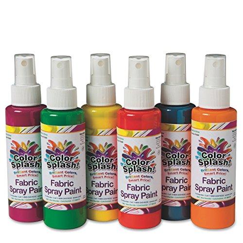 color splash fabric paint 4 oz - 5