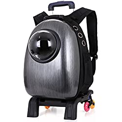 YAAGLE Protable Travel Pet Shoulder Bag Backpack Trolley Bag Carriers for Dog Cat Puppy
