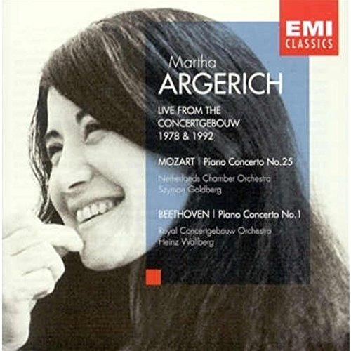 Live from the Concertgebouw, 1978 & 1992 - Mozart: Piano Concerto No. 25, K. 503 / Beethoven: Piano Concerto No. 1, Op. 15 by EMI Classics