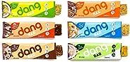 Dang Keto Bar | 6 Flavor Variety | 12 Pack | Keto Certified, Vegan, Low Carb, Low Sugar, Plant Based, Non GMO,