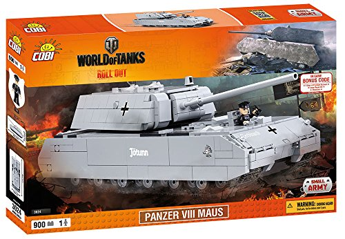COBI World of Tanks Panzer VIII Maus Tank (Panzer Tank)