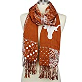 Bethel International Texas Longhorns Mixed Print Scarf