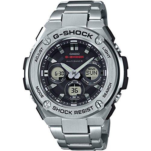 CASIO Reloj Hombre de Digital con Correa en Acero Inoxidable GST-W310D-1AER: Amazon.es: Relojes