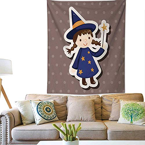 BlountDecor Gorgeous Tapestry Halloween Party Costume Theme Elements 40W x 60L INCH ()