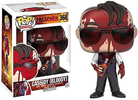 d3fed9db066 Image Unavailable. Image not available for. Color  Funko Pop Television  Preacher Exclusive Bloody Cassidy Vinyl Figure