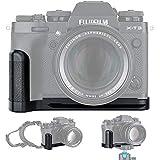 JJC Metal Hand Grip L Bracket Holder for Fujifilm Fuji X-T3 XT3 X-T2 XT2 Camera, Arca Swiss Type Quick Release Plate, Replaces Fujifilm MHG-XT3 MHG-XT2 Handgrip (Not Compatible with X-T4 XT4)
