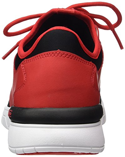 Black Red Flow white Run Sneaker Uomo Rot Supra vTqSYY