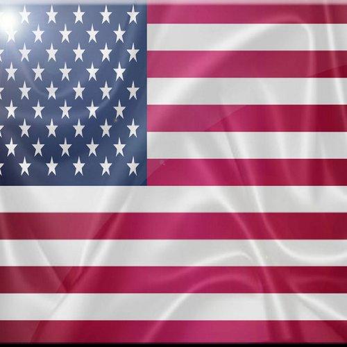 Rikki Knight America State Flag Design Art Ceramic Tile 4 by 4-Inch 4inctile2675