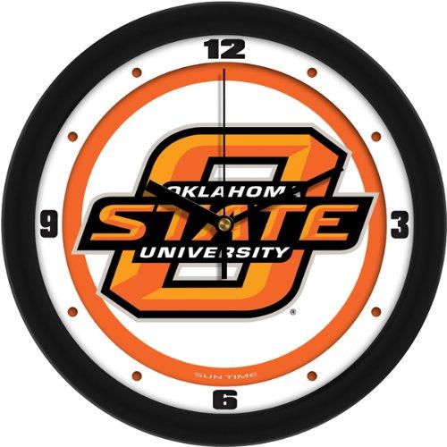 SunTime NCAA Oklahoma State Cowboys Traditional Wall Clock