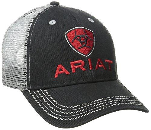 Ariat Mens Black Gray Mesh product image