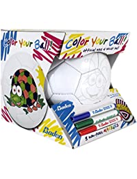 Color Your Own Soccer Ball, Kids Soccer Ball w/ Colored...