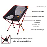 Ultralight Camping Chair Portable Folding Compact for Outdoor Travel Sport Festival Party Picnic Kayaking Fishing Hiking Backpacking