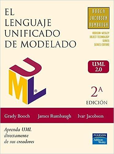 el lenguaje unificado de modelado grady booch