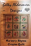 img - for Betty Alderman Quilt Pattern Design - Nursery Rhyme Crayon Quilt 32 1/2