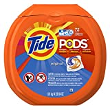 Tide PODS Original Scent HE Turbo Laundry Detergent Pacs 72-load Tub