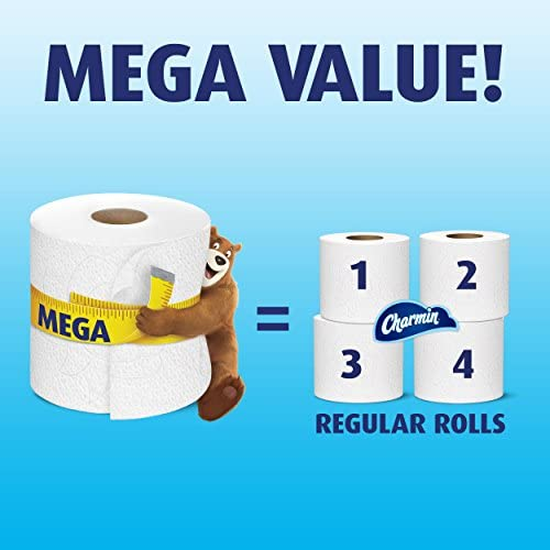 Charmin Sensitive Rollo De Papel Higiénico Mega 6 Count Health Personal Care