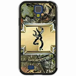 Personalized Samsung Galaxy S4 SIV i9500 Back Diy PC Hard Shell Case Fashion Hot Browning Camo Black by Maris's Diary