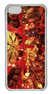MEIMEI Customized ipod touch 5 PC Transparent Case - The Red Room House On The Rock Personalized CoverLINMM58281